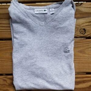 Lacoste V-Neck T-Shirt, Size L